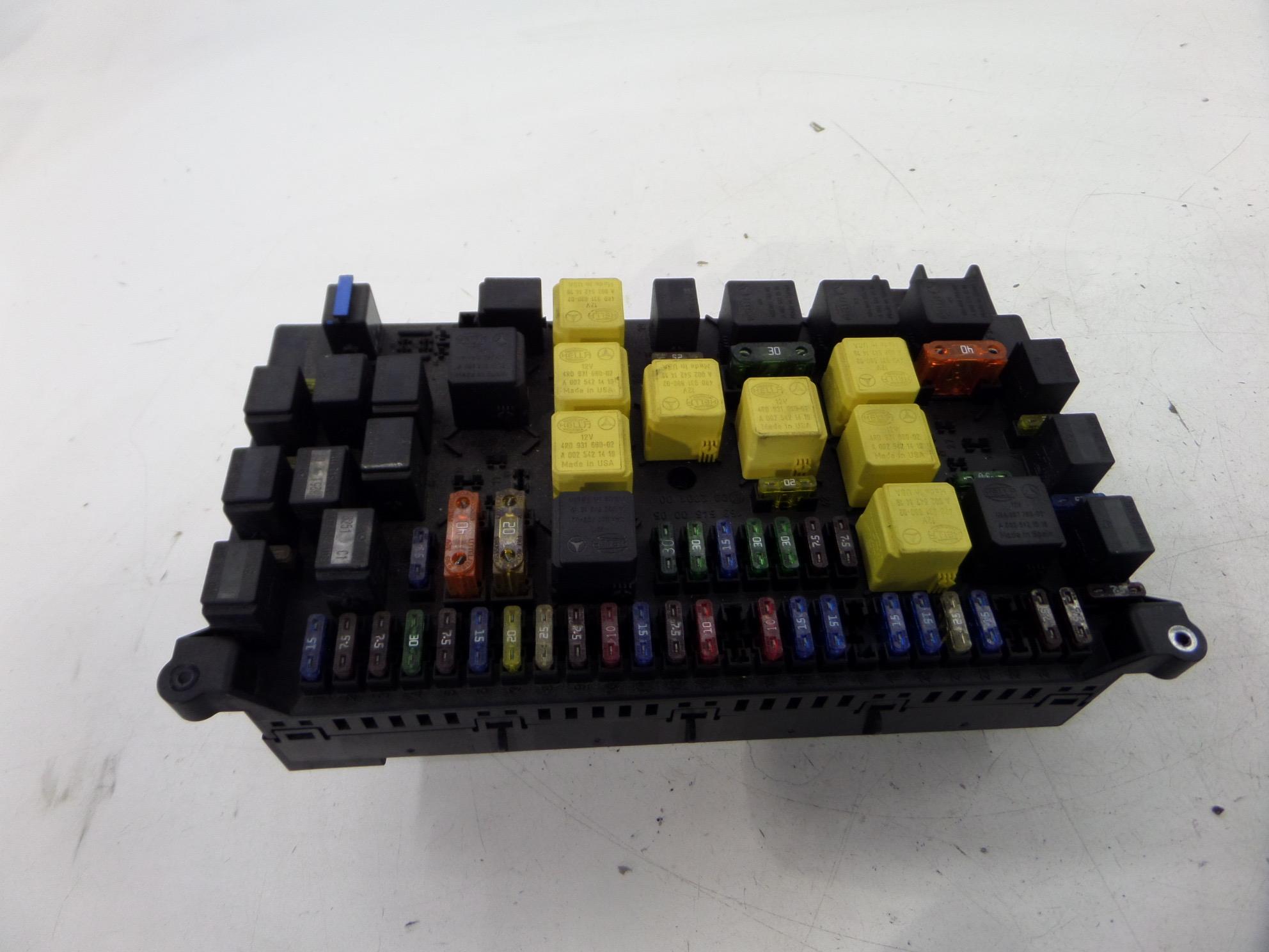 mercedes ml430 fuse box w163 98-01 oem 163 545 00 05 | ebay  ebay