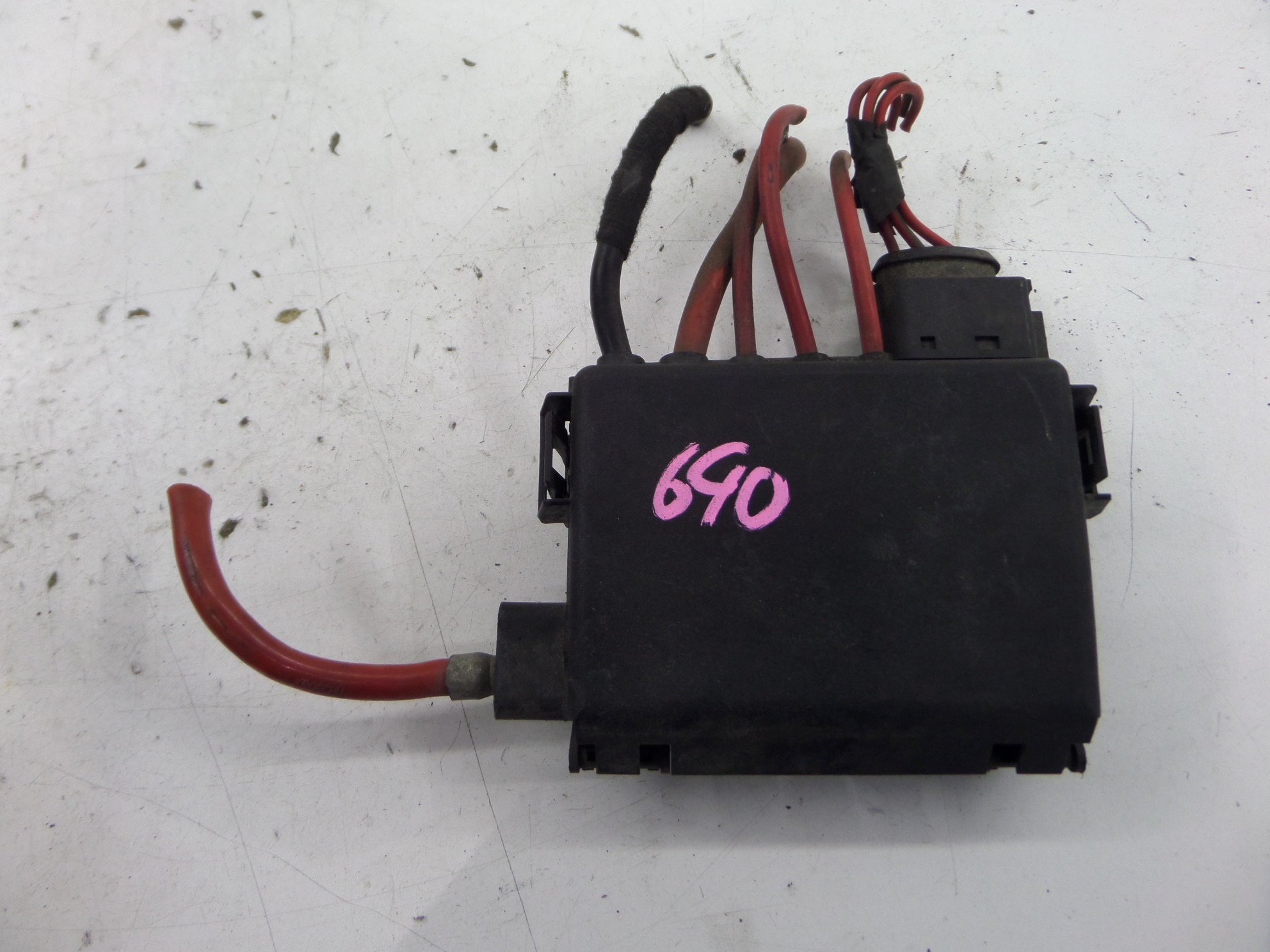 VW Golf GTI 20th 20AE Battery Top Fuse Box MK4 00-05 OEM 1J0 937 550 Jetta  | eBayeBay