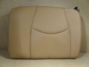 2005 Porsche 997 C2S Left Rear Upper Seat Sand Beige