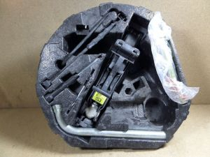 2002 VW Beetle Turbo S Tool Kit Tire Jack Wrench Foam
