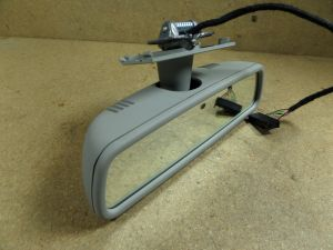 2008 Audi A8 Auto Dim Rear View Mirror Grey