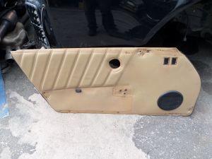 1982 Porsche 911 SC Left Front Leather Door Card Tan