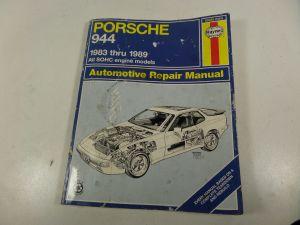 1989 Porsche 944 Haynes Repair Manuals Literature Catalogue (Other)