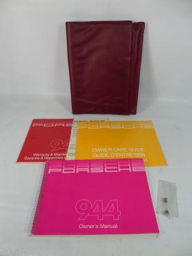 1985 Porsche 944 Owner's Manual Manuals Literature Catalogue (Other)