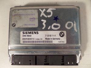 01 BMW X5 3.0 Engine Computer