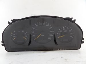 00 Mercedes ML A163 Instrument Cluster KPH KM/H