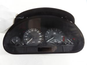 00 BMW 323 MT Instrument Cluster Euro KPH KM/H