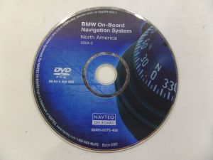 BMW GPS Navigation System DVD