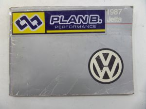 1987 Owners Manual