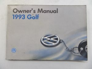 1993 Owners Manual