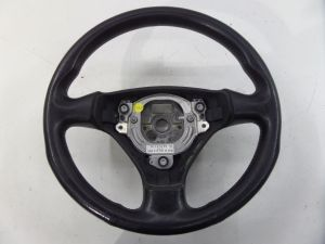 3 Spoke Leather Steering Wheel