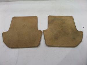 Rear Floor Mat Sand Tan Beige