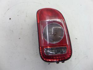 07-10 Mini R55 Cooper Clubman S Right Brake Tail Light w/ Clear Lens OEM 2754530