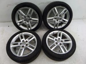 "06-13 Audi A3 17"" 5 Split Spoke Wheels 8P TDI 5 x 112 OEM 8P0 601 025 BQ"