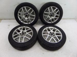 """00-05 VW MK4 16"""" BBS Mesh Wheels Golf GTI Jetta GLI Beetle Audi TT OEM 5 x 100"""
